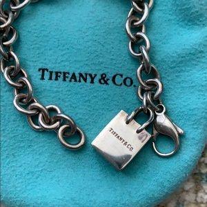 Tiffany & Co charm bracelet with Tiffany's charm